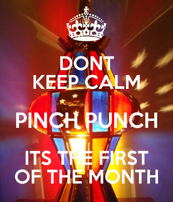 pinch and a punch